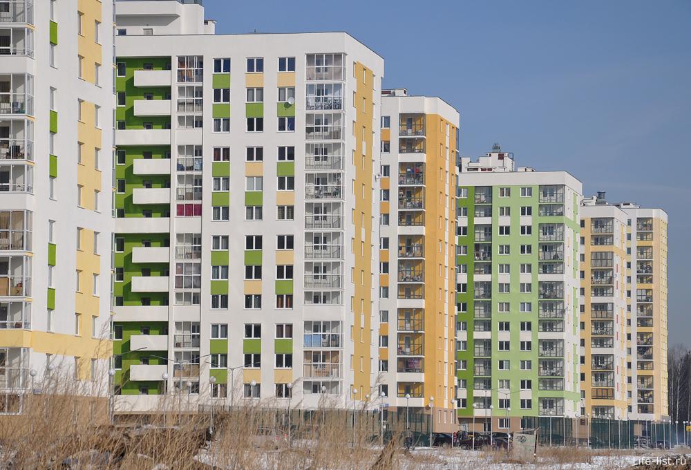 Микрорайон Академический новые дома