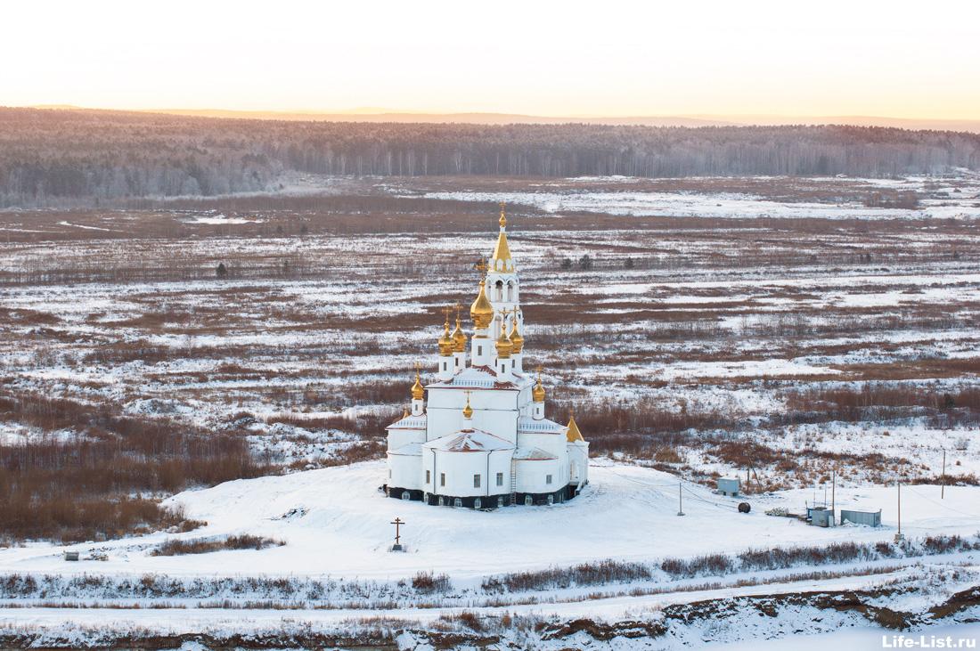 Храм Святых Божьих строителей Екатеринбург Академический