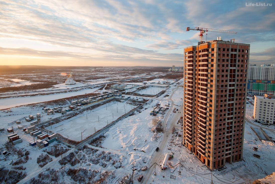 строительство района Академический 2015 год