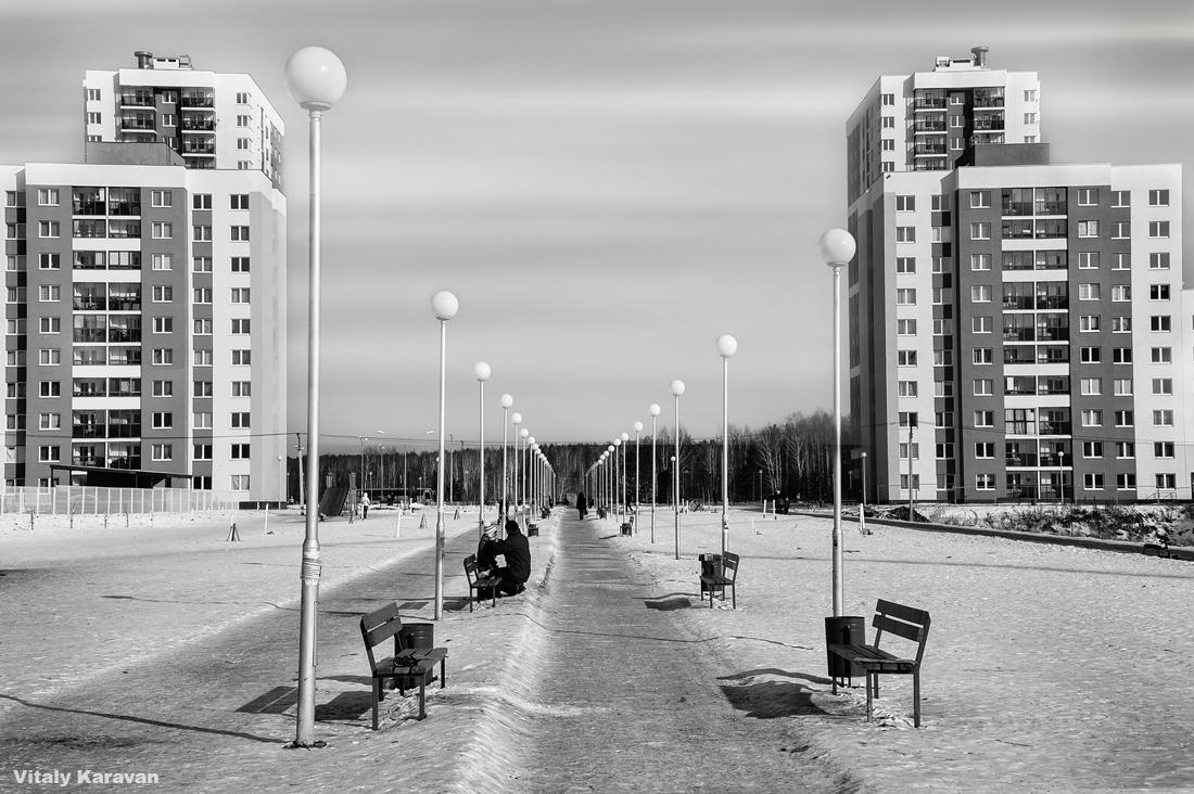 фотограф Виталий Караван фото Екб академический ч/б
