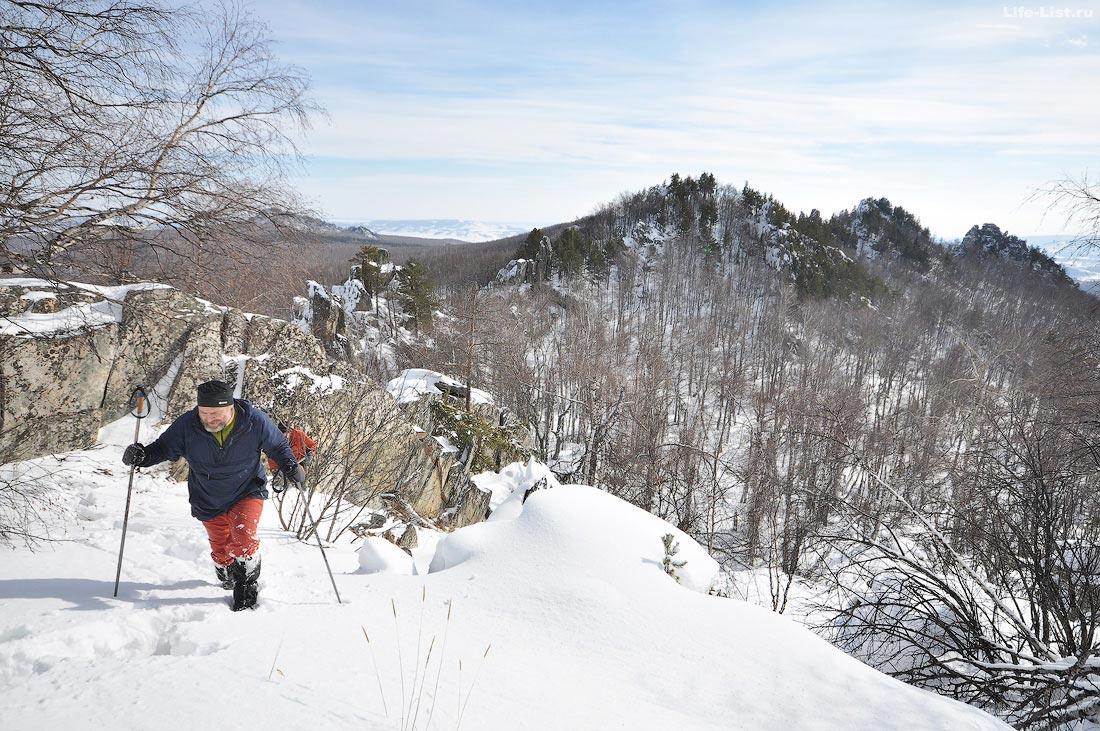зимний поход Уральские тропы на хребет Алабия