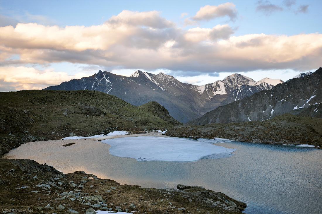 Алтай долина семи озер вечер июнь