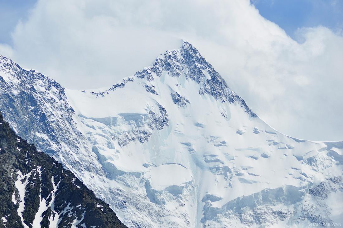 Алтай Белуха вершина восточная