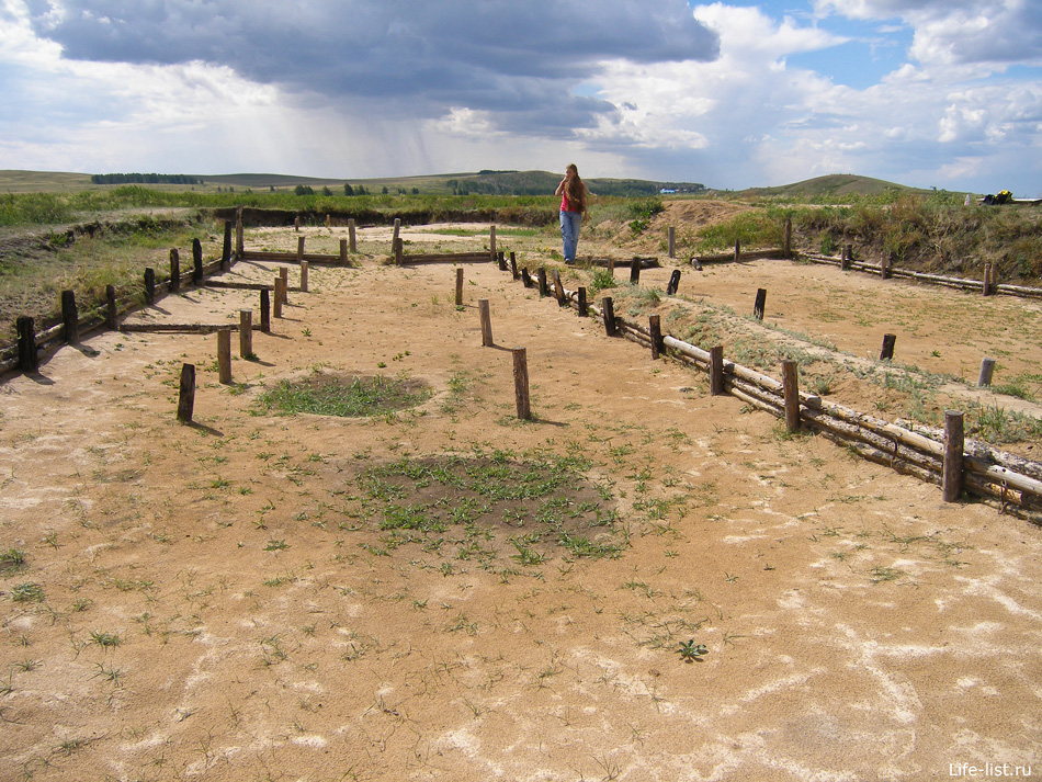 аркаим древнее поселение раскопки