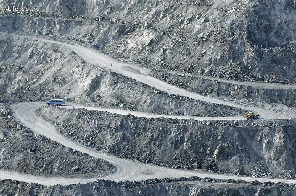 дорога на асбестовском карьер красивые фото