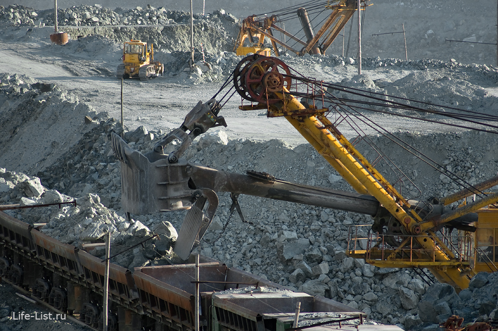 месторождение хризотил-асбеста красивые фото электровоз погрузка руды