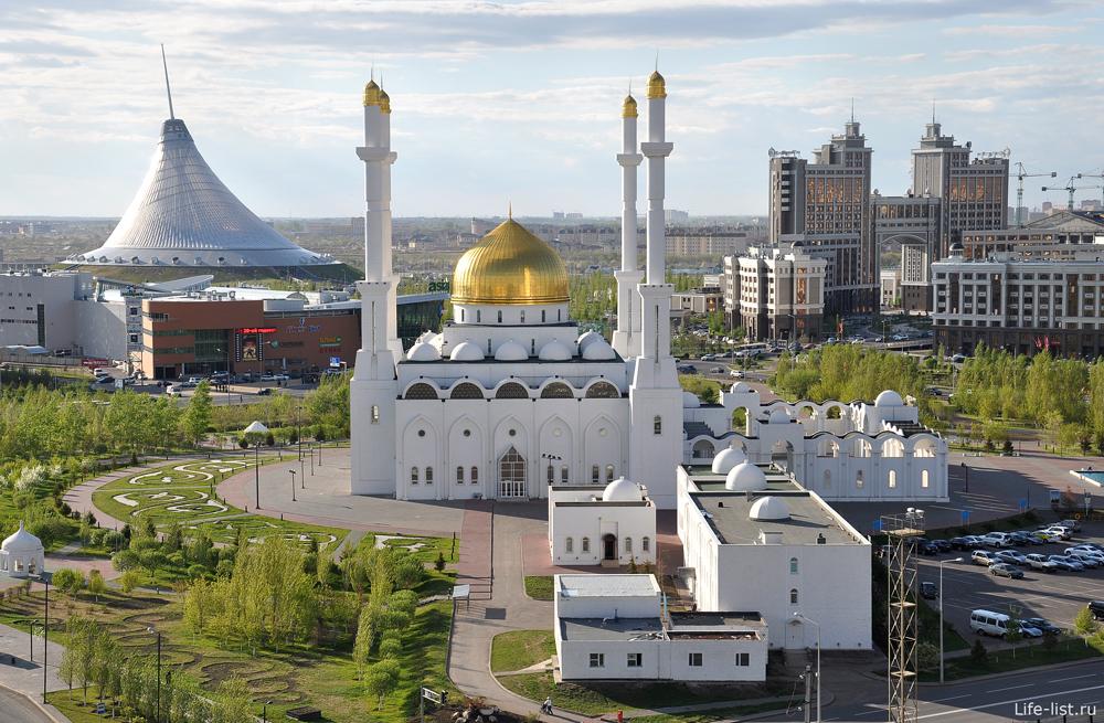 Современная Астана с высоты фото Виталий Караван