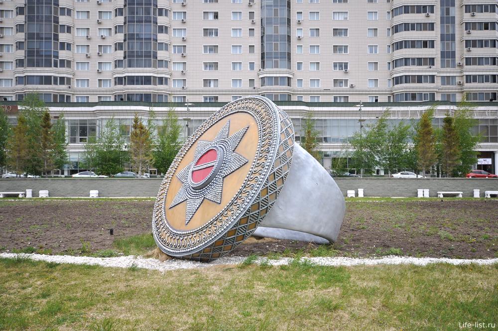Перстень громадный