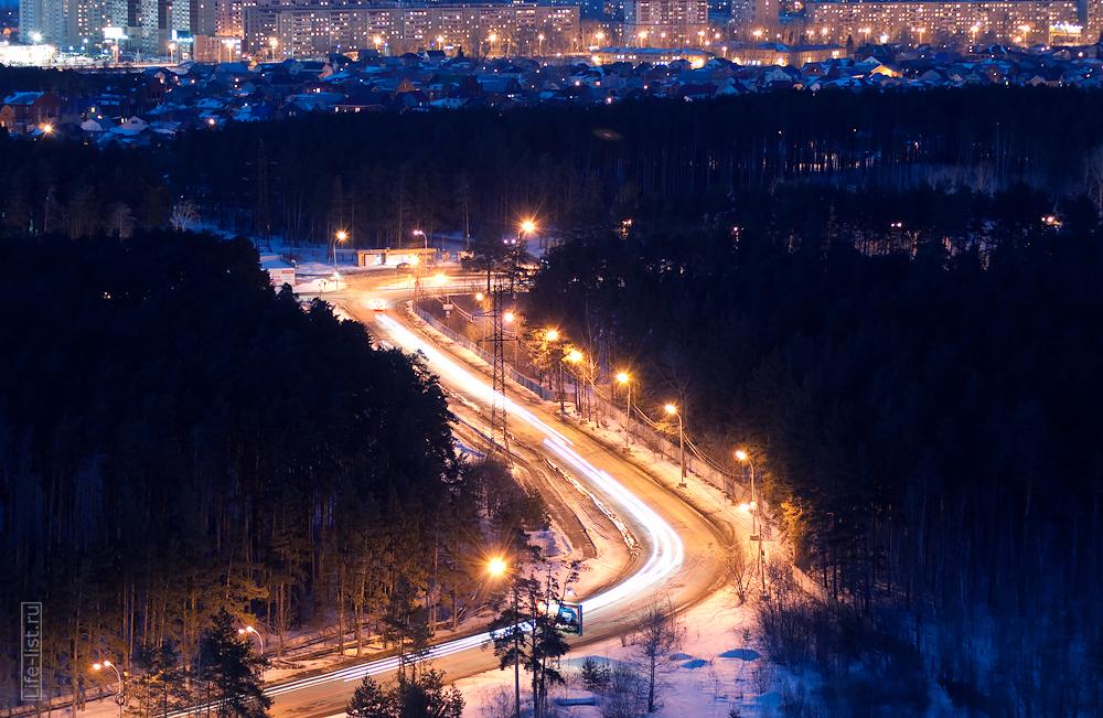 улица репина ночное фото Екатеринбург