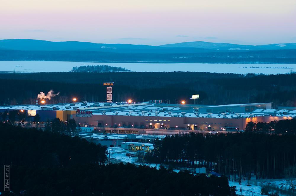 ТРЦ мега Екатеринбург фото с высоты