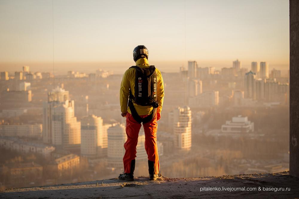 Екатеринбург прыжок с башни Исеть фото