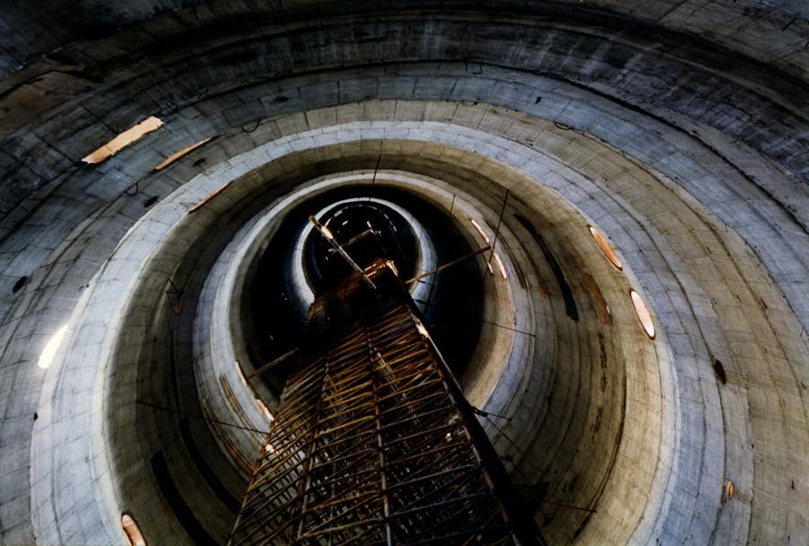 внутри башни арматура башня Екатеринбург