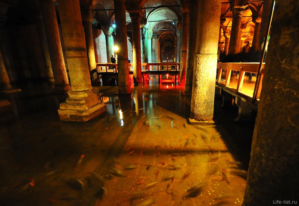 Стамбул подземное хранилище воды