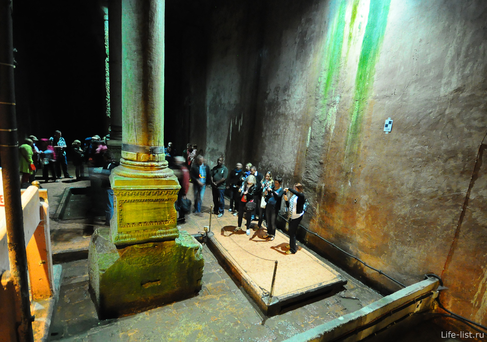 Подземное хранилище цистерны базилика
