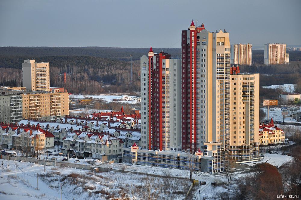 ЖК Высокий берег фото Екатеринбурга
