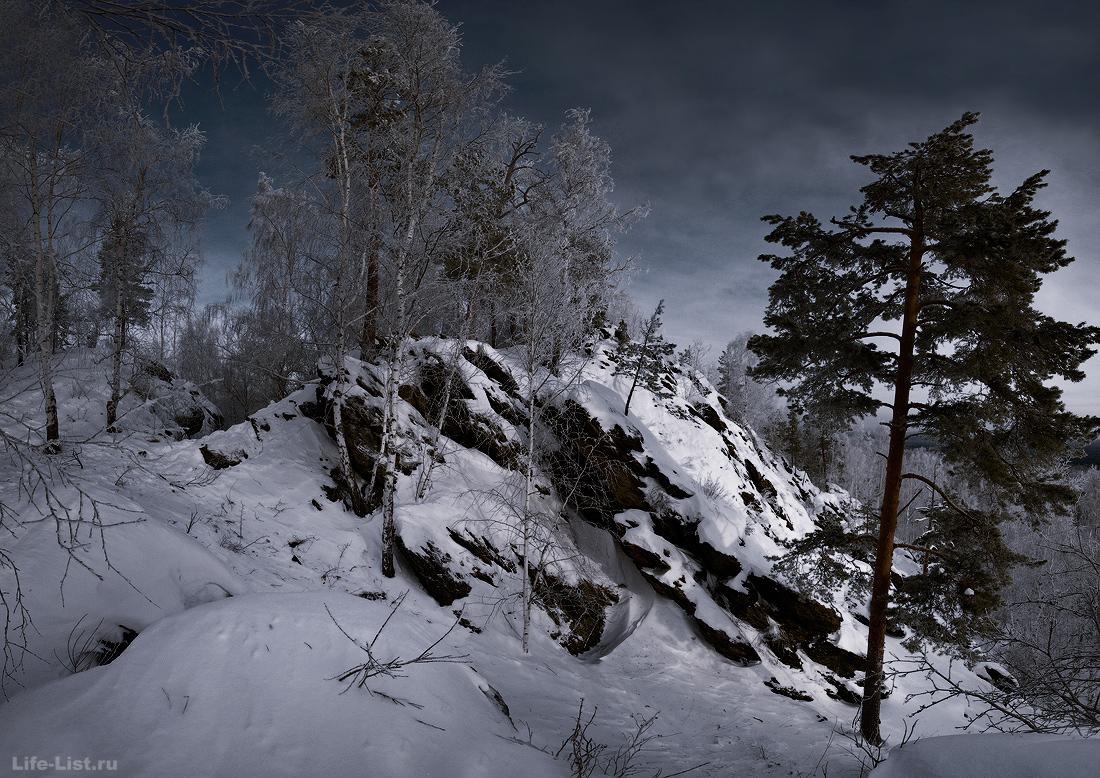 поход на скалы Белый камень Зюзельский Урал фото Виталий Караван