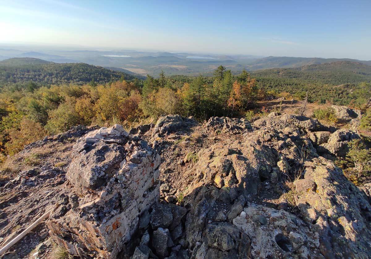 вершина горы Кушай