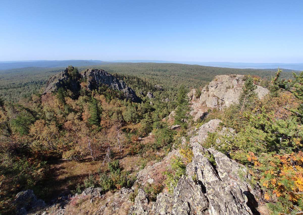 вершина горы Курташтау