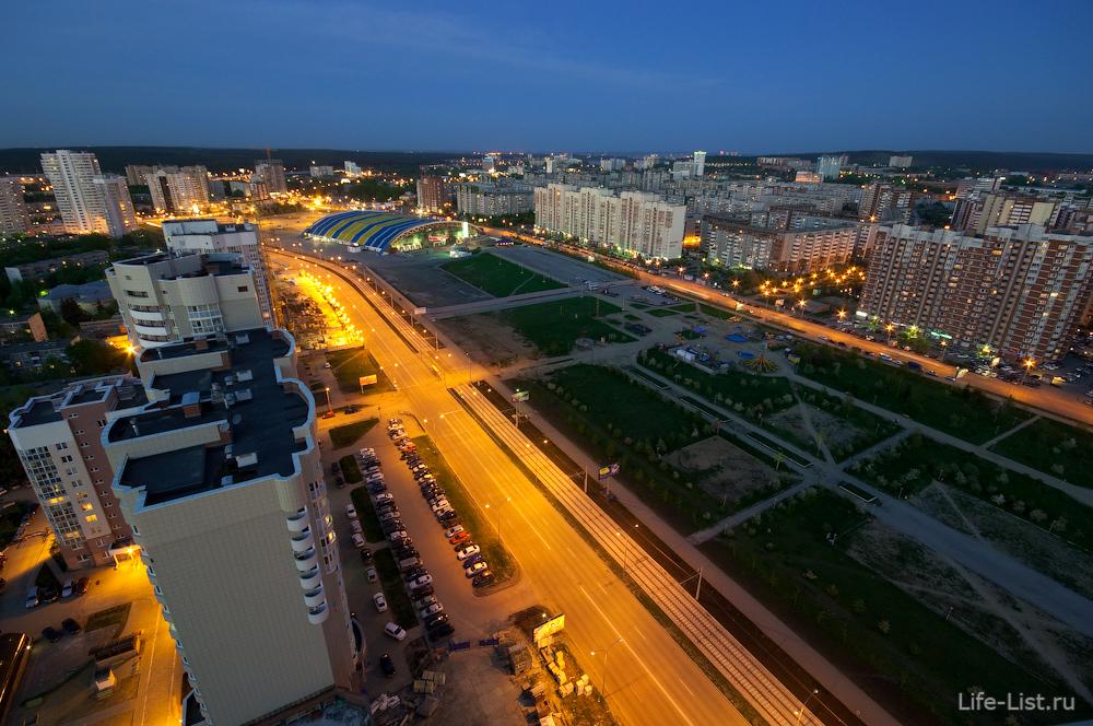 микрорайон Ботаника фото с высоты фотограф Виталий Караван
