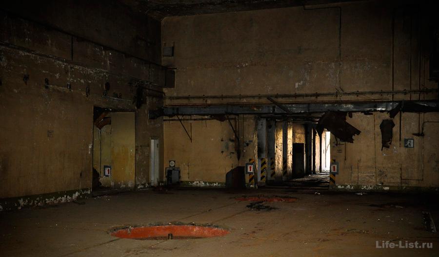 Центральный зал бункера исток свердловская область