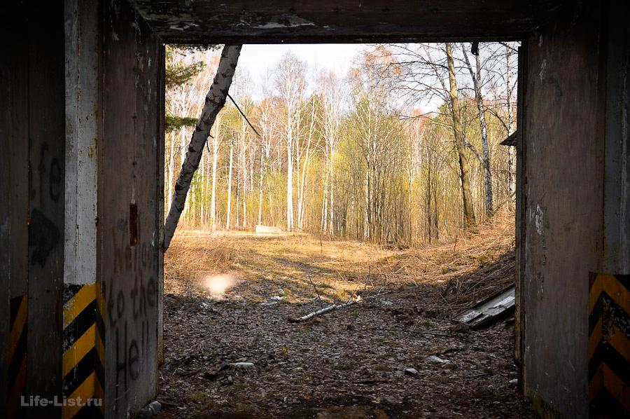 выход из бункера
