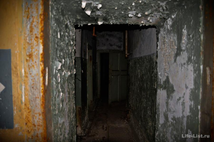 темные коридоры хранилище боеприпасов урбантрип