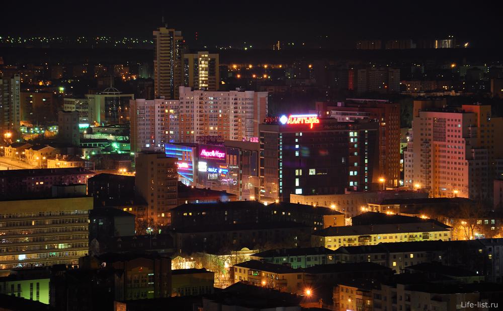 Екатеринбург ТЦ Алатырь с высоты