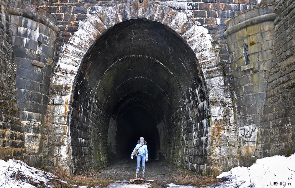 Заброшенный дидиновский тоннель вход