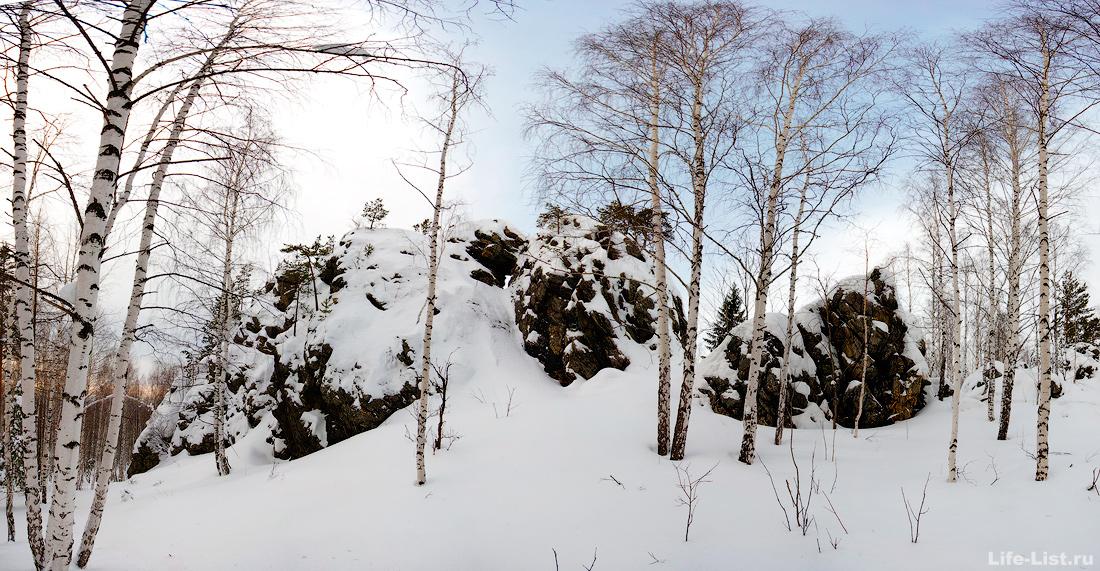 скалы Дыроватый камень Дегтярск фото Виталий Караван
