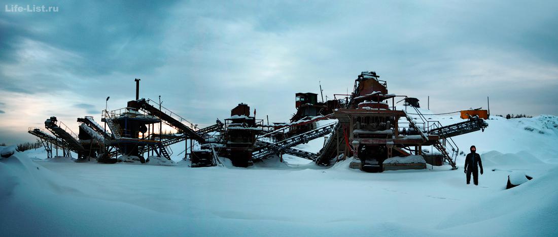 Губерский карьер Дегтярск фото Виталий Караван