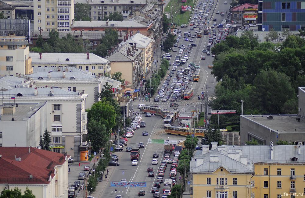 Перекресток Московская Ленина екатеринбург