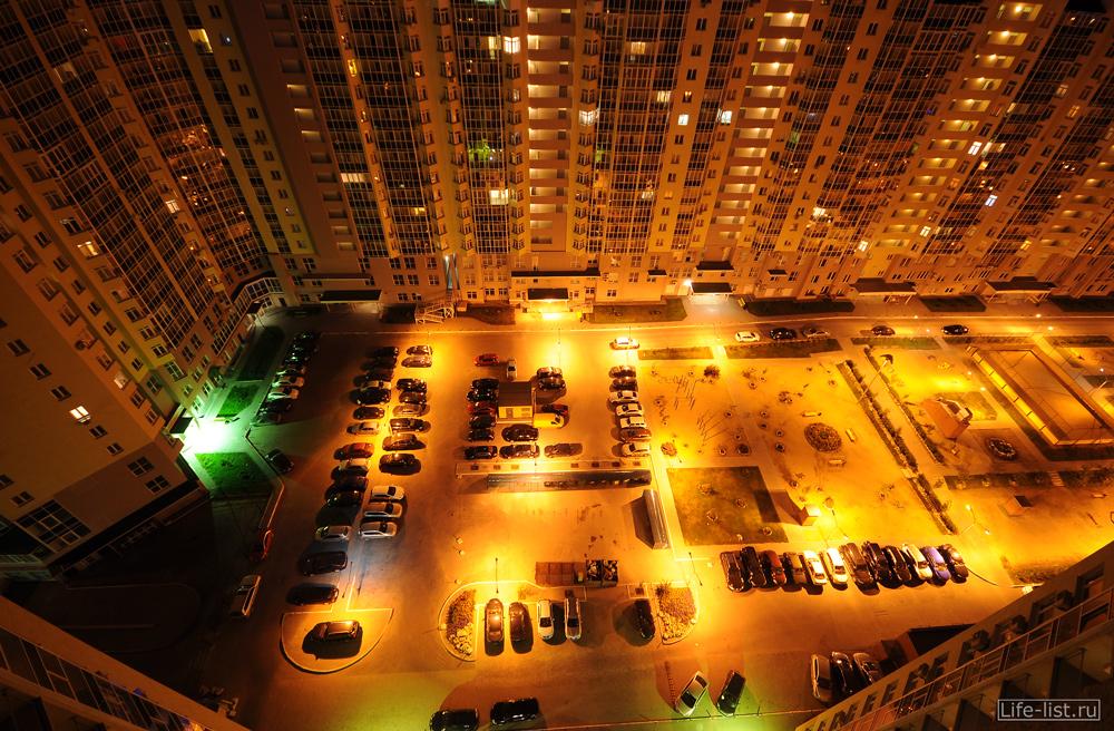 Жилой комплекс Бажовский фото с высоты