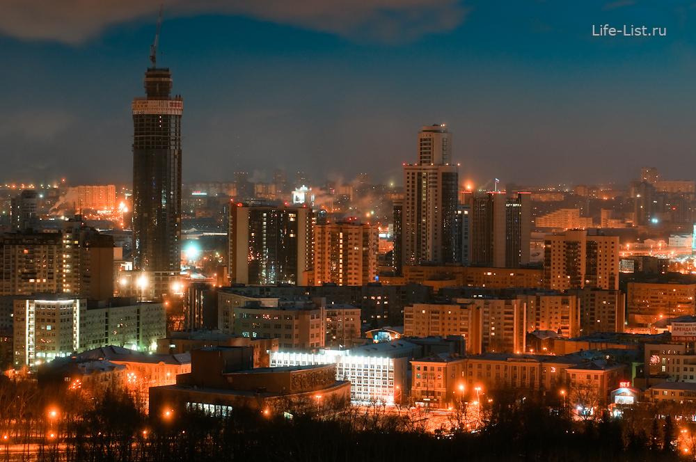 Екатеринбург-сити с высоты фотограф Виталий Караван