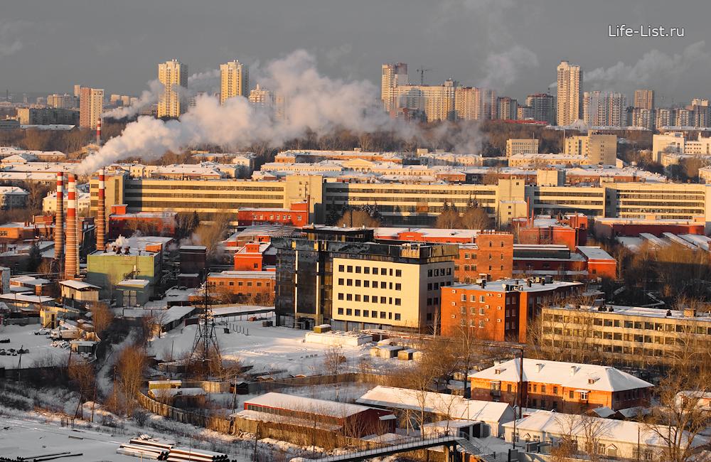 Уральское производственное предприятие Вектор с высоты фото Виталий Караван