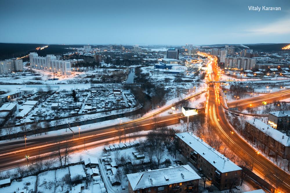 Щербакова Объездная с высоты Екатеринбург фото Vitaly Karavan