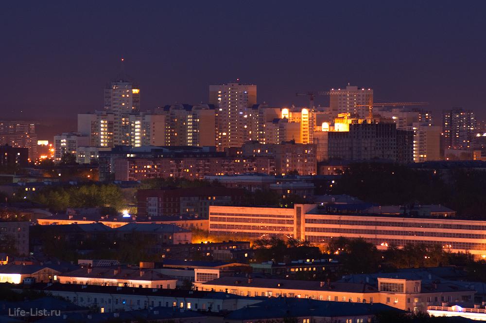 В сторону улицы Комсомольская. ЖК Университетский