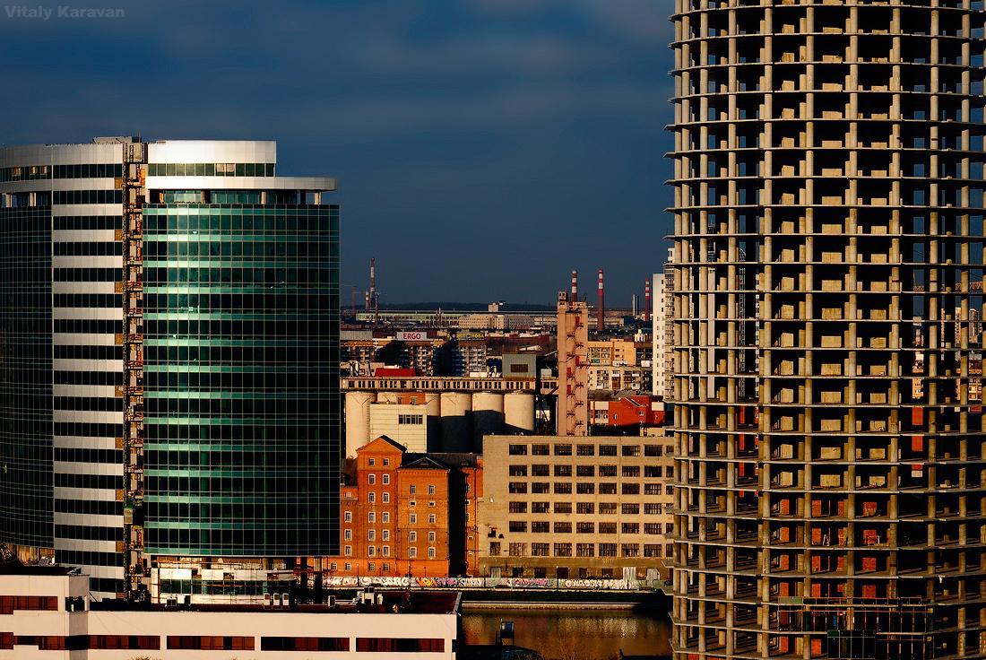 Городской фрагмент Екатеринбурга photo by Vitaly Karavan