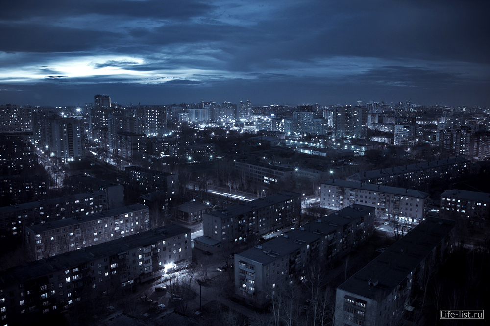 ekb Екатеринбург с высоты фото вечернее