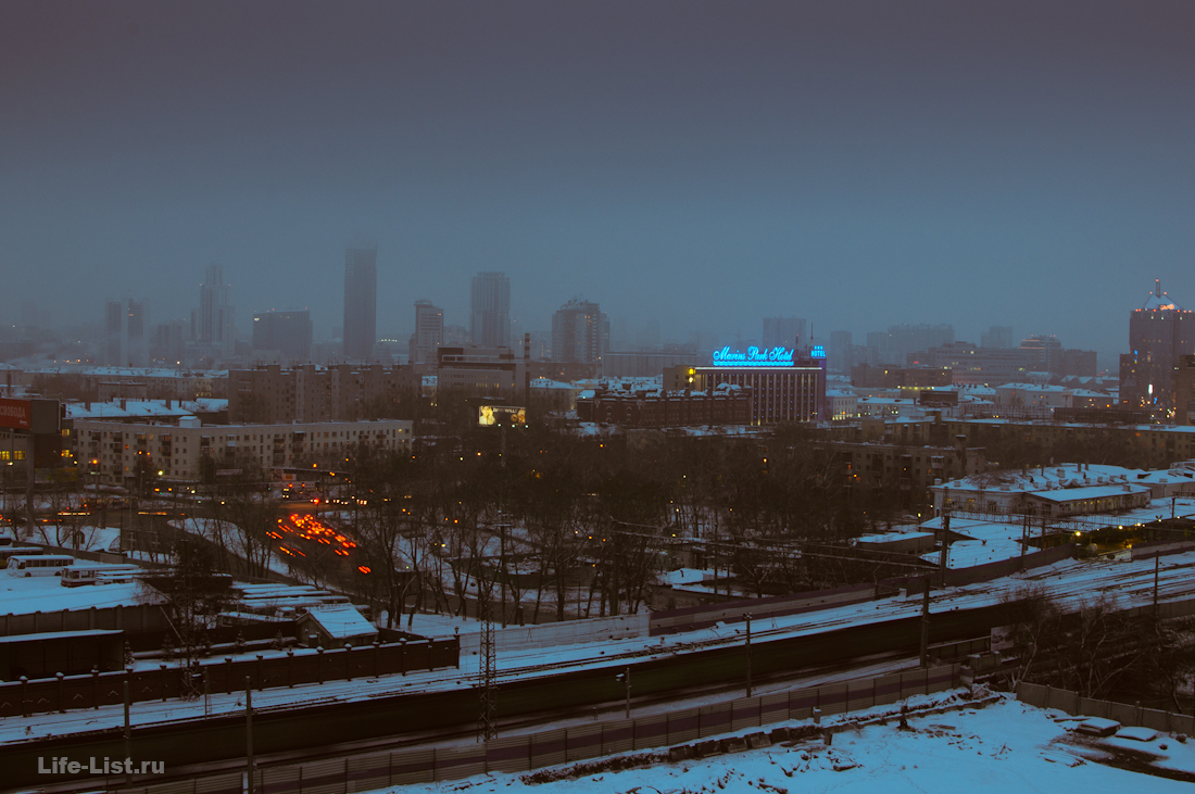 вид на центр Екатеринбурга с ЖК Малевич фото Виталий Караван