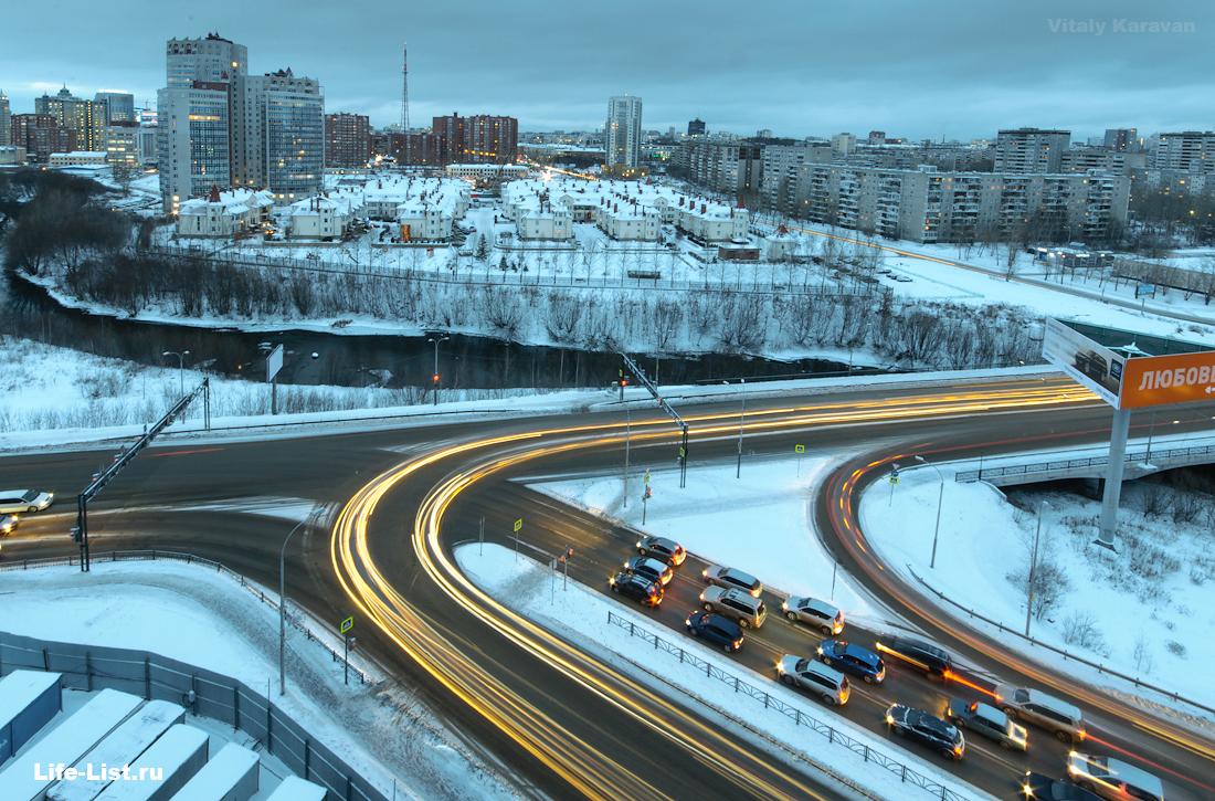 фото Виталий Караван пересечение фурманова машинная перекресток Екатеринбург
