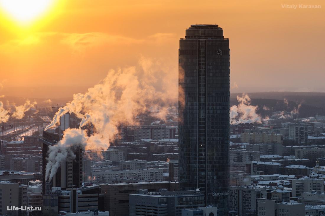 небоскреб высоцкий красивое фото Виталий Караван