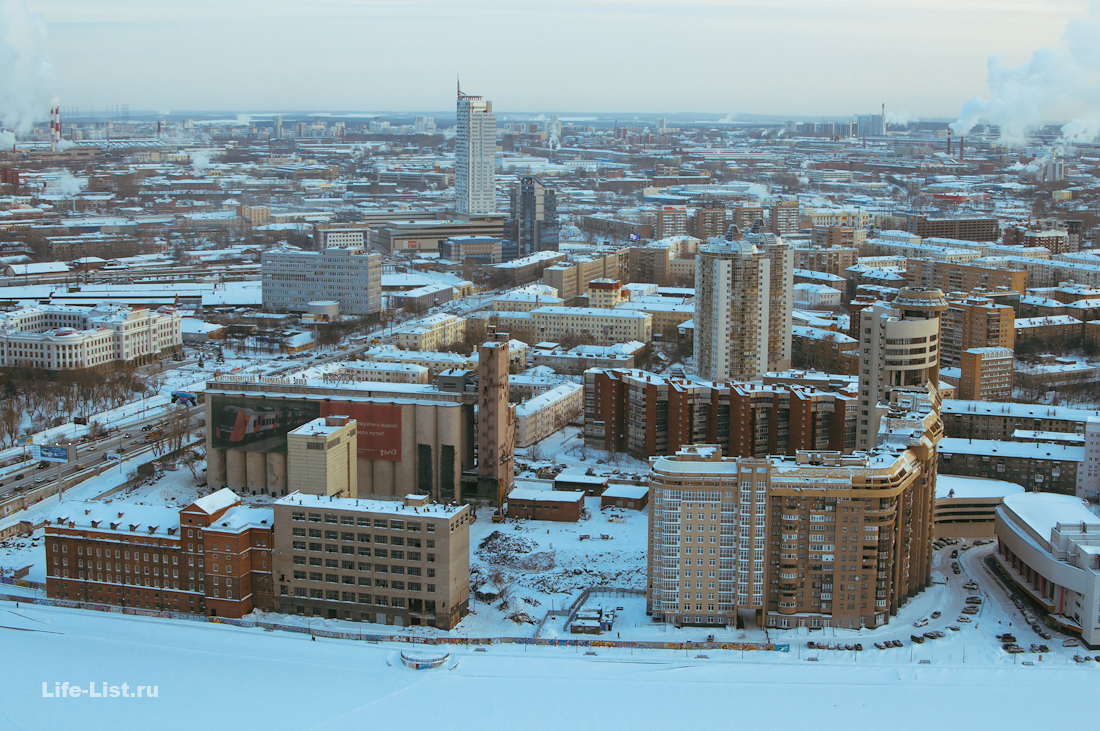 Мукомольный завод ЕМЗ с высоты фото Виталий Караван