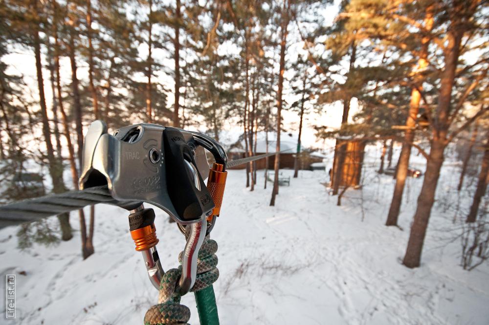 этап троллей веревочный парк Екатеринбург