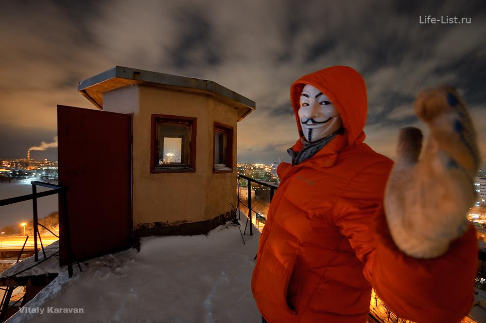 Vitaly Karavan маска на мукомольном заводе в Екатеринбурге