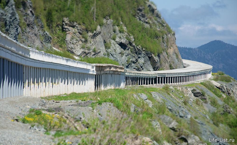 тоннель на дороге Абакан Кызыл красноярский край