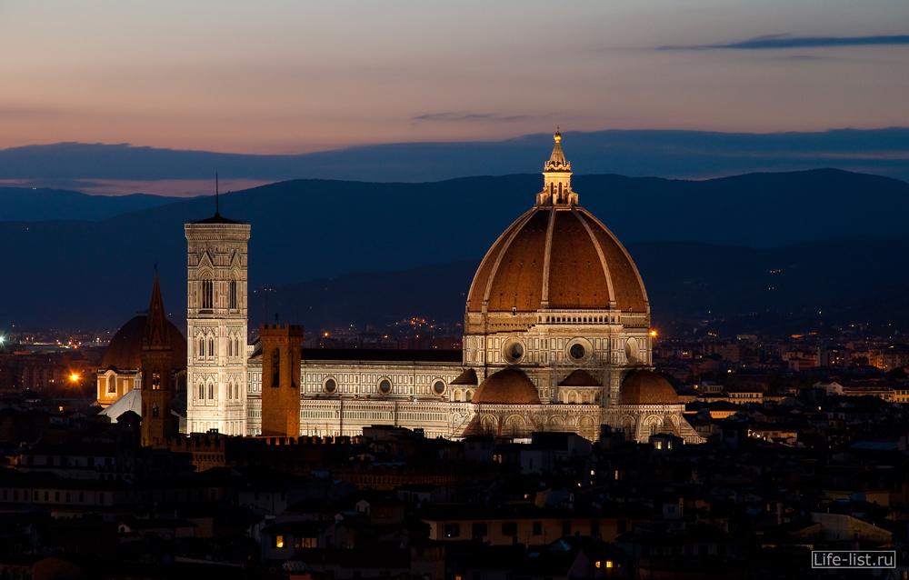 Собор Дуомо кафедральный Флоренция Италия Duomo