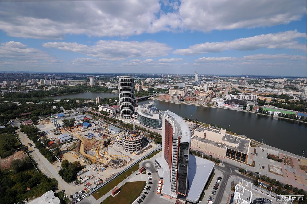Вид на будущий екатеринбург сити