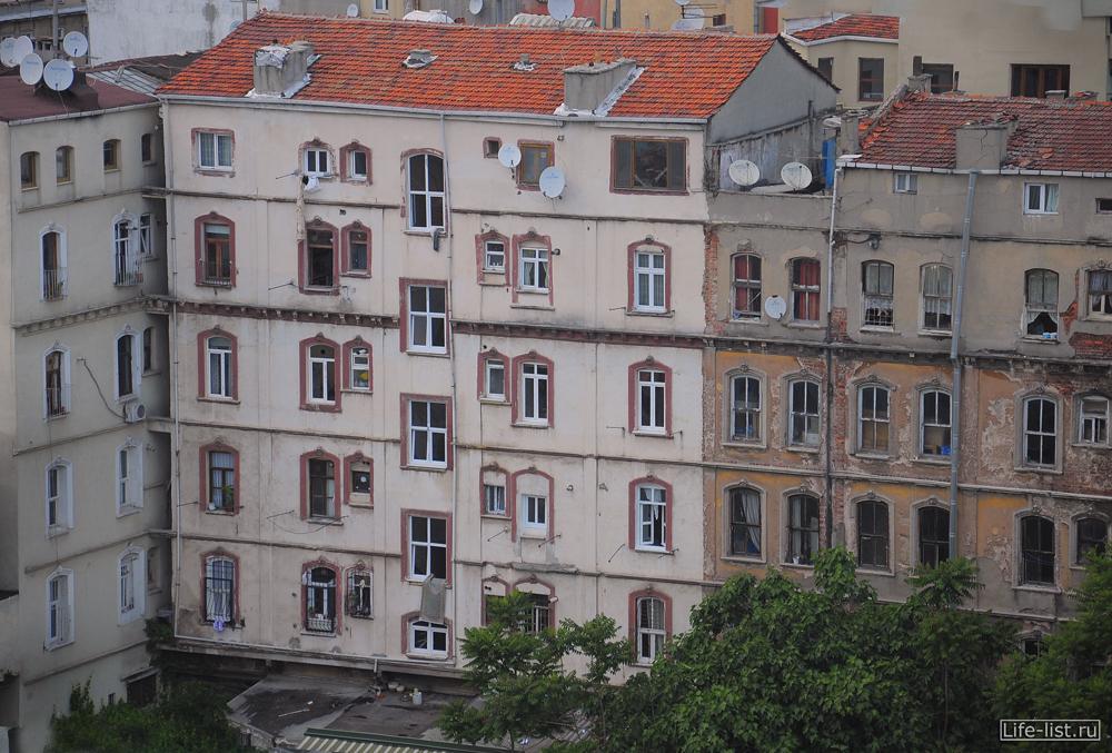 старый дом в стамбуле вид с высоты