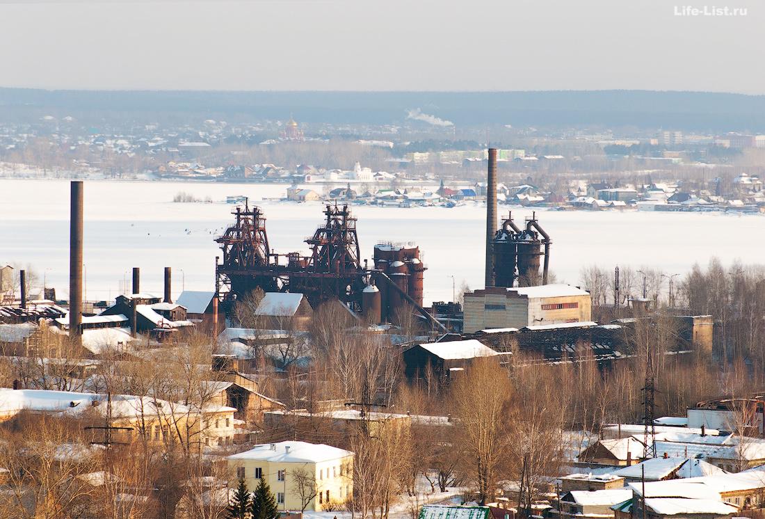 Завод музей имени куйбышева вид со смотровой