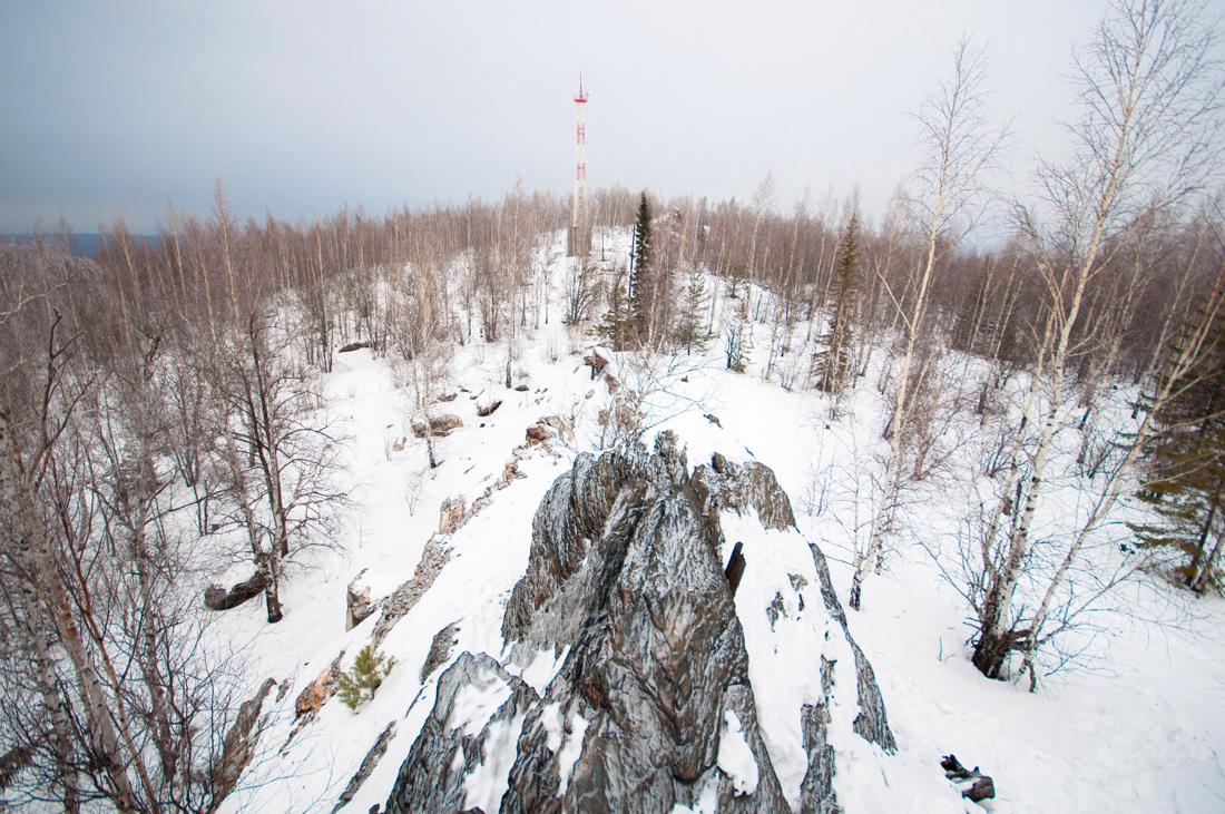 фото вершины Гора Караульная Первоуральск